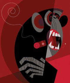 El Mono Silvio by Pablo Lobato, via Flickr