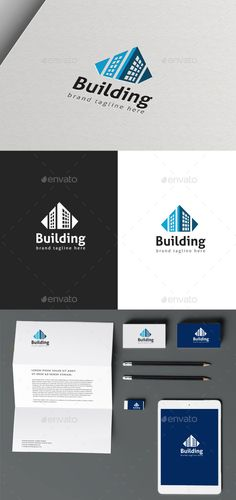 Building Logo Template Vector EPS, AI #logotype Download: http://graphicriver.net/item/building-logo/10286058?ref=ksioks