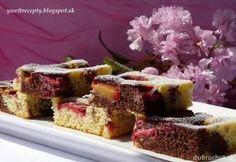 Fotorecept: Slivkový hrnčekový koláč