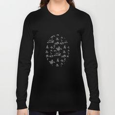 Toile Black Unicorn Long Sleeve T-shirts