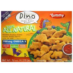 Yummy Dino Buddies Chicken Breast Nuggets - 70 oz. - Sam's Club