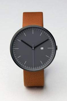 200 Series (PVD Gun Grey / Tan Leather) | Uniform Wares ($200-500) - Svpply