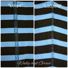 Wally and Grace Designs: How to Sew a Flatlock Stitch with Your Serger