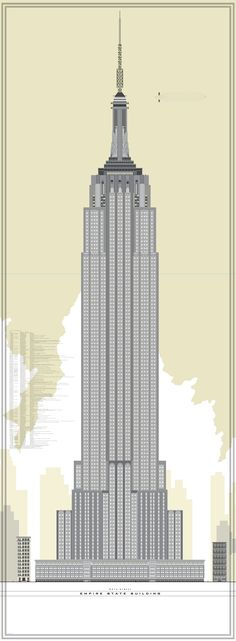 Empire State Building Vector