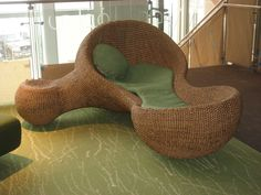 Not sure if this is a chair or a bed, but I want it...