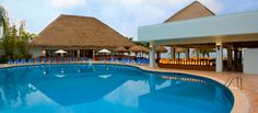One of the beautiful blue pools at #SunscapeResorts Sabor Cozumel