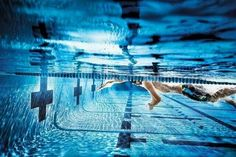 Freestyle swim.