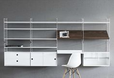 New Additions to String, the Classic Scandinavian Shelving Dream - Architizer