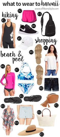 Going to Hawaii? Need a guide on what to wear? Check out my blog post all about what to wear in Hawaii!
