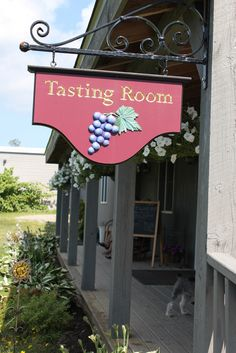 Tasting room at Sunset Meadow