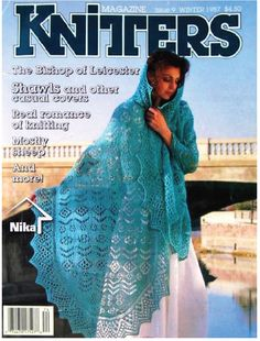A diverse collection of magazines about knitting. Vogue Knitting, Knitting Books, Crochet Books, Easy Knitting, Knitting Yarn, Knitting Projects, Knit Crochet, Vintage Crochet Patterns, Crochet Patterns For Beginners