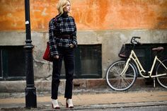 Copenhagen Fashion Week Street Style Photos via @WhoWhatWear