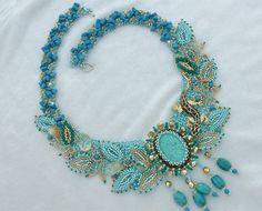 Bead Jewelry Necklace Jessie Nassau Collection by NewWorldElegance, $290.00