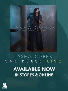 #BuyGospelMusic One Place: Live by Tasha on CD, Vinyl and Download from iTunes, Amazon & Google Play. Available August 21, 2015 on Motown Gospel. // #gospelmusic #BGePromotions  #oneplacelive   #tashacobbs   #August2015Releases   #motowngospel   Gospel Music