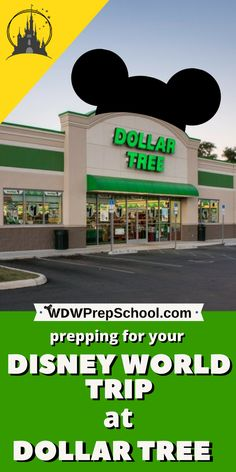 Shopping before a Disney World trip can really add up, but you can save some money by prepping for your next trip at Dollar Tree. This budget and money saving Dollar Tree hacks will save you more money that you can use during your Disney vacation! Disney World Hotels, Voyage Disney World, Viaje A Disney World, Disney World Tipps, Walt Disney World Vacations, Disney World Tips And Tricks, Disney Tips, Disney Disney, Disney Bound