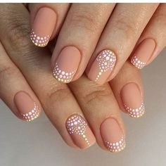 Until a few years ago at the peak of their popularity had long nails square or pointed shape. It looks interesting, unusual, but such nails absolutely not practical. Indeed, some professions are not allowed to have such long nails. Fortunately, this year naturalness rapidly become fashionable in all. In particular this applies to the manicure. Therefore, we can safely make short nails and still be at the height of fashion. Source: www.pinterest.com