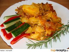 Czech Recipes, Russian Recipes, Ethnic Recipes, Gnocchi, Lasagna, Cauliflower, Macaroni And Cheese, Food And Drink, Potatoes