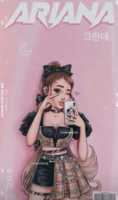 Ariana Grande Anime, Ariana Grande Poster, Ariana Grande Album, Ariana Grande Background, Ariana Grande Drawings, Ariana Grande Cute, Ariana Grande Photoshoot, Ariana Grande Wallpaper, Ariana Grande Pictures
