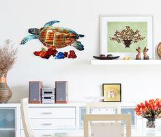 tropical-sea-turtle-metal-wall-art-sculpture-9.png (600×512)