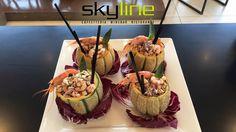 Insalata di mare e farro.... Così solo allo Skyline Caffè!   #skyline  #rimini   #ristoranterimini  #barrimini