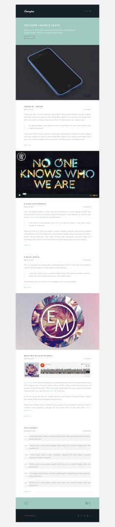Creaytve - Clean & creative blogging Wordpress Theme  #wordpress #theme #template #webdesign #webpage #website #site #design #html #css #blog #shortcode #webfont #slider #responsive #mobile #flexible #fluid #retina #flat #flatui #flatdesign #photography #photo #portfolio #creative #gallery #photoblog #showcase #creative #grid #wpml