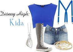 """Disney High School: Kida"" by imissyoucupcake on Polyvore"