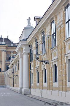 Schönbrunn Palace courtyard - Vienna, Austria