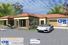 Single Storey House Plans, African Traditional Wedding Dress, All Design, House Design, Site Plans, Garage Plans, House Floor Plans, Home Collections, Flooring
