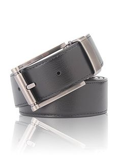 DemonHunter Mens Luxury Prong Buckle Black Belt P017Y3110CM >>> Check this awesome product by going to the link at the image.