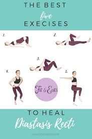 6 Core Exercises for New Moms with Diastasis Recti