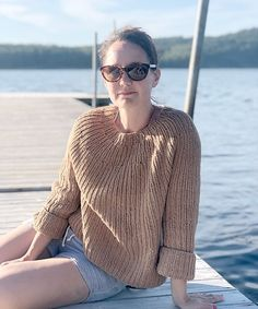Ravelry: Make it a Double pattern by Anna & Heidi Pickles Pullover Sweaters, Men Sweater, Summer Sweaters, Soft Summer, Pickles, Needles Sizes, Ravelry, Knitting Patterns, Knit Crochet