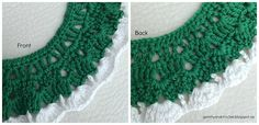 Free Pattern: Cozy Bib Crochet Necklace Collars, Free Pattern, Crochet Necklace, Cozy, Blog, Crochet Collar, Necklaces