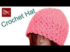 Crochet Blossom Hat Video Tutorial @CrochetGeek