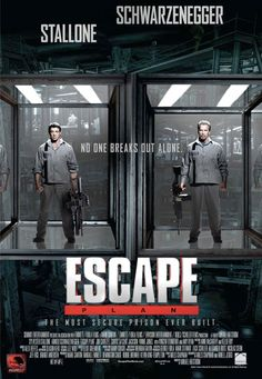 2 New Posters for Stallone and Schwarzenegger's ESCAPE PLAN — GeekTyrant