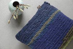 LUMIKELLO Kissen quadratisch Blau und Grün von Lumikello auf DaWanda.com