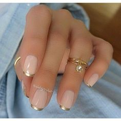 #ManicureMonday The Best Nail Art of the Week ❤ liked on Polyvore featuring beauty products and nail care