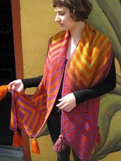 Ravelry: Morocco Scarf pattern by Ilga Leja