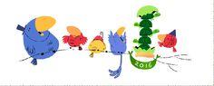Doodle do Google comemora a chegada do Ano Novo (Foto: Divulgação)
