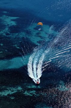 ✮ An aerial view of a motorboat towing a parasailer https://swisshalley.com/de/ref/future56