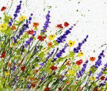 FAQ to Create Splattered Paint Flower Art