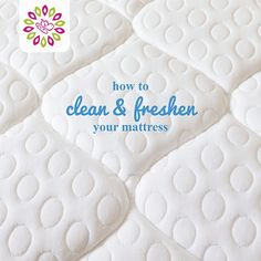 How To Clean & Freshen a Mattress: Don't forget your mattress when spring cleaning!  This and more spring cleaning tips on this great site! #HTCleanSpring