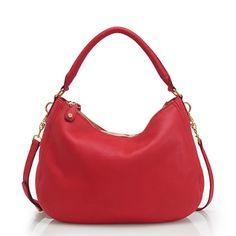jcrew biennial hobo.. swoon for the red