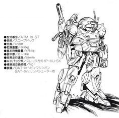 """Armored Trooper Votoms"" 