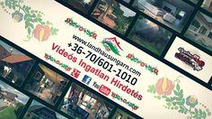 Landhaus Ungarn - Ön is videóval hirdeti eladó ingatlanát? Gyr, Event Ticket, Videos, Youtube, Real Estate Agents, Hungary, Landing Pages, Farmhouse, City