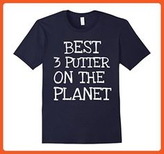 Mens Best 3 Putter On The Planet Golfing Funny Dad Mom T Shirt 3XL Navy - Sports shirts (*Partner-Link)