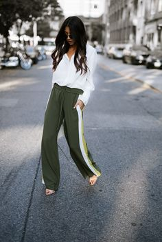 The Trend: TRACK PANTS | Not Your Standard | Bloglovin'
