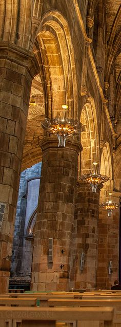 St. Giles Cathedral Interior - Edinburgh   Scotland