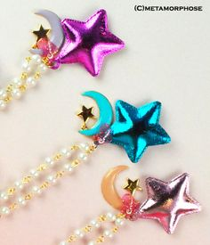metamorphose temps de fille twinkle star&moon ネックレス