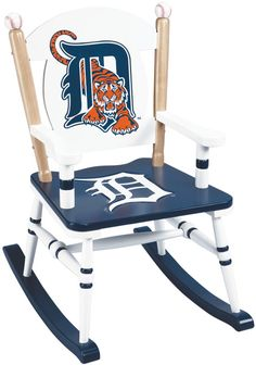 detroit tigers kids rocking chair | Educational Toys : Puppets : Wooden Toys : Waiting Room Toys : Kid's ...