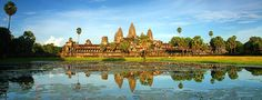 Vietnam & Cambodia in 10 Days: The tour includes a trip to the must-see Angkor Wat in Siem Reap. Angkor Wat, Angkor Temple, Temple Ruins, Buddhist Temple, Ta Prohm, Indiana Jones, Cambodia Travel, Heritage Site, Asia Travel